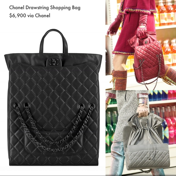 bdcdb5a4236cec CHANEL Bags | Large Classic Flap Quilted Lambskin Tote | Poshmark